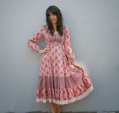 Prairie Dress: Gunne Sax Dresses