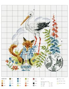 Fables & Fairy Tales to Cross Stitch 2018 — Yandex. Cross Stitch Samplers, Counted Cross Stitch Patterns, Cross Stitch Charts, Cross Stitch Designs, Cross Stitching, Cross Stitch Embroidery, Embroidery Patterns, Cross Stitch Fairy, Just Cross Stitch