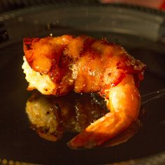 Grilled Bacon Wrapped Stuffed Shrimp Recipe with cream cheese, jalapenos and sweet chili sauce