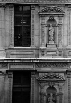 Louvre Worker, Paris, 1997.