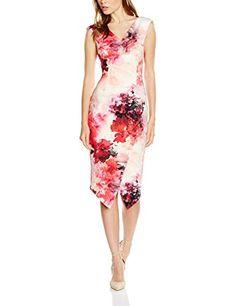 Coast Women's Edris Adra Dress, Multicoloured (Multi), 12