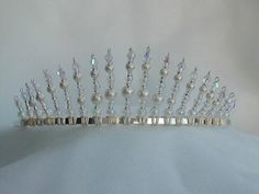 Julia Beautiful Handmade Tiara by Tiaramendous on Etsy, £25.00