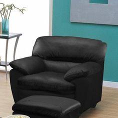Palliser Furniture Harley Arm Chair Finish: Espresso, Upholstery: Bonded Leather - Champion Alabaster