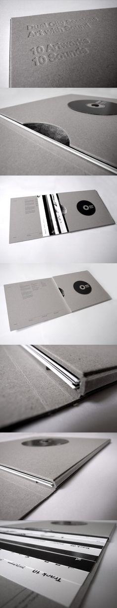 Álbum contém uma peça de arte plástica pra cada faixa de CD. #packing #audiovisual #Art