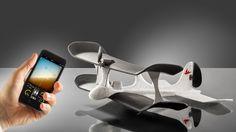 Das erste Smartphone gesteuerte Flugzeug der Welt! www.smartplane.net!