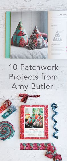 If you're a serious crafter, you are definitely familiar with the mess your scrap pile can become—I'm talking about all those beautiful fabrics that are too small to star in their own sewing project, but too pretty to throw away just yet. Amy Butler is here to take those pieces and turn them into something amazing.