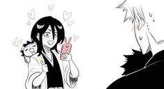 Bleach Ichigo And Rukia, Kuchiki Rukia, Bleach Manga, Anime Manga, Anime Art, Bleach Couples, Bleach Fanart, Anime Rules, Otaku