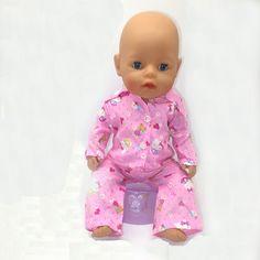 43 cm Zapf Muñeca Bebé Nacido Ropa de Todo tipo de estilo de ropa de los niños de regalo de Navidad envío libre la muñeca m71