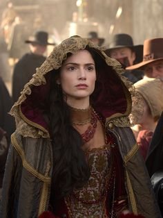Janet Montgomery as Mary Sibley in Salem