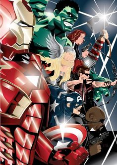 Avengers Assemble! by *eosvector