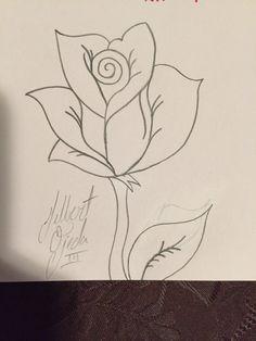 #rose #drawing #pencil #sketch
