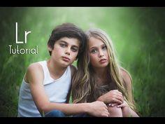 Lightroom CC Tutorial : Outdoor Portrait Edit ( English ) - YouTube
