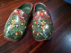 A pair of clogs I painted in 2012