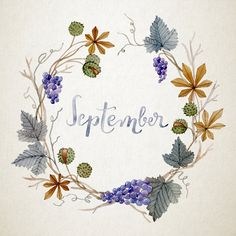 57 ideas for painting flower wreath Floral Wreath Watercolor, Watercolor Flowers, Watercolor Art, Frame Floral, Wreath Drawing, Calendar Wallpaper, Architecture Tattoo, Floral Motif, Flower Art