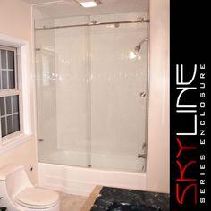 267 Best Frameless Shower Doors Images Bathroom