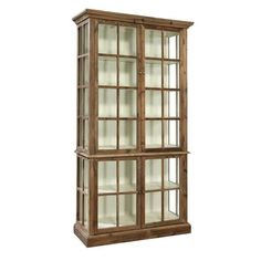 Fillmore display cabinet by furniture classics in the fc living room collec Solid Wood Shelves, China Display, Wood Display, Display Boxes, Shop House Plans, Garage Design, Dining Furniture, Cabinet Furniture, 5 D