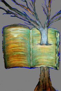 ARTES, DESARTES E DESASTRES CONTEMPORÂNEOS. Árvore fincada Técnica mista  - Acrílica sobre tela e arte digital sobre papel