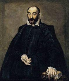 Portrait of a man (Andrea Palladio), 1575, El Greco