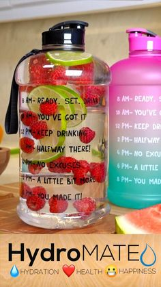 Healthy Water, Healthy Detox, Healthy Smoothies, Healthy Drinks, Smoothie Recipes, Healthy Snacks, Healthy Eating, Infused Water Recipes, Healthy Groceries