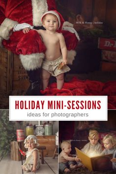 Great post (+ behind-the-scenes video!) all about holiday mini-sessions for photographers  » The Milky Way – a photographer's resource