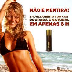 #BestBronze é fácil de aplicar e serve para qualquer tipo de pele!  Comprove: www.bestbronze.com.br