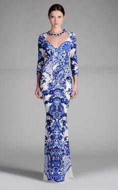Abito lungo Donna - Vestiti Donna su Roberto Cavalli Online Store