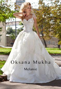 Wedding dress by Oksana Mukha #coupon code nicesup123 gets 25% off at  Provestra.com