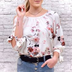 New Spring arrivals in-store and online! Check em out! 💮 www.sharilynfashions.com . . TAP TO VIEW PRODUCTS . . #flower #leathergoods #photography #jeans #leatheraccessories #floraldesign #denim #onlineshop #handmade #floralart #leatherworks #model #leatherwork #flowers #leather #ootd #blouse #floral #jeansbigsize #modeling #fashion #florals #leathercraft #jeansimport Online Check, Leather Accessories, Leather Craft, Florals, Modeling, Floral Tops, Floral Design, Denim, Flower