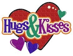 199 best hugs kisses images on pinterest kisses sending rh pinterest com hershey hugs and kisses clip art hugs and kisses clipart images