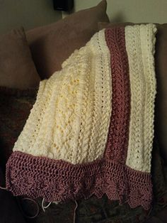 Victorian Baby Blanket - Free Ravelry Download