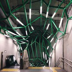 The Tokyo underground maze | #LightisLife by Hiroaki Fukuda