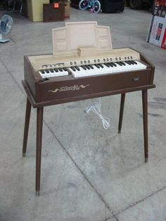 Electric organ. Never really learned to play, but I loved it just the same.