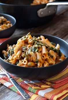 Gluten-Free-Creamy-Pumpkin-Penne - Carol Kicinski at simplygluten-free.com - Along with the delicious-looking recipe, Carol gives some great tips on cooking for a guest with allergies you aren't familiar with.