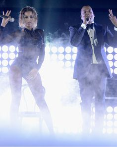 The Most Unforgettable Grammys Performances of All Time - Beyonce and Jay Z, 2014 from InStyle.com