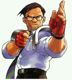 View an image titled 'Hideo Shimazu Art' in our Rival Schools art gallery featuring official character designs, concept art, and promo pictures. Character Poses, Game Character Design, Character Design Inspiration, Character Concept, Character Art, Street Fighter Comics, Capcom Street Fighter, Samurai, Art Studies
