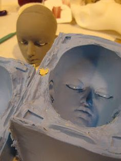 Quirky Artist Loft: How to Sculpt and Mold a BJD Doll Head *Best*