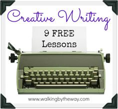 9 Free Creative Writing Lessons