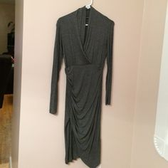 Grey Long Sleeved Dress Venus long sleeve dress Venus Dresses Long Sleeve