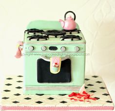 #1950s inspired Cake by cupcake d'lights {South Africa}: