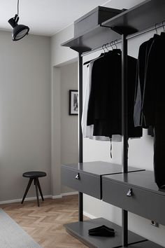 Is To Me | Walk-in wardrobe | Menu Flip Around stool/table available at www.istome.co.uk | @juliaalena