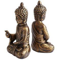 Buddha Bookend Set