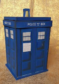 DIY Tardis explosion box.  youtbe-video.