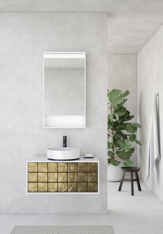Eine Tradition neu interpretiert - Terracotta Fliesen Modern, Vanity, Design, Tile, Dressing Tables, Trendy Tree, Powder Room, Vanity Set, Single Vanities