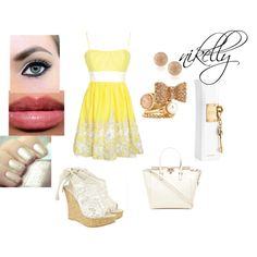 """""""amarelo"""" by karlalopes on Polyvore"""
