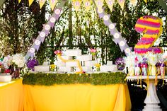 Tangled + Rapunzel Themed Birthday Party