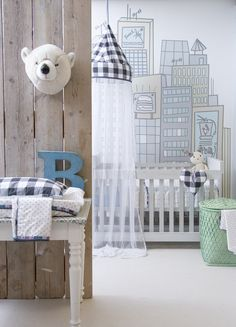 Home Design Inspiration For Your Kids Room Baby Bedroom, Baby Boy Rooms, Baby Boy Nurseries, Nursery Room, Kids Bedroom, Nursery Decor, Kids Rooms, Bear Nursery, Nursery Ideas