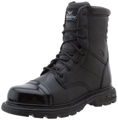Thorogood Men's 8' Side Zip Jump Boot Gen-flex >>> Discover this special boots, click the image : Men's boots