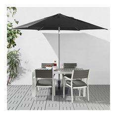KUGGÖ / LINDÖJA Jalallinen auringonvarjo IKEA