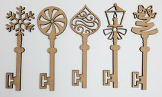 Made From thick High Quality MDF. 5 x wooden shapes, each is. Any laser processing marks can be removed by a light sanding or simply painting over. Key Tags, Wooden Shapes, Decor Crafts, Embellishments, Ceiling Lights, Ebay, Products, Ornaments, Key Pendant