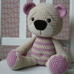 Tummy Teddy bear amigurumi